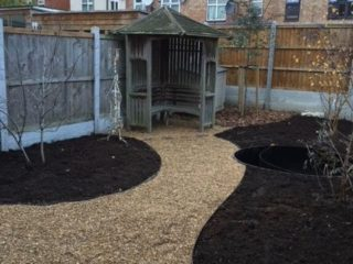 Paths and borders installed