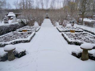 Formal parterre garden